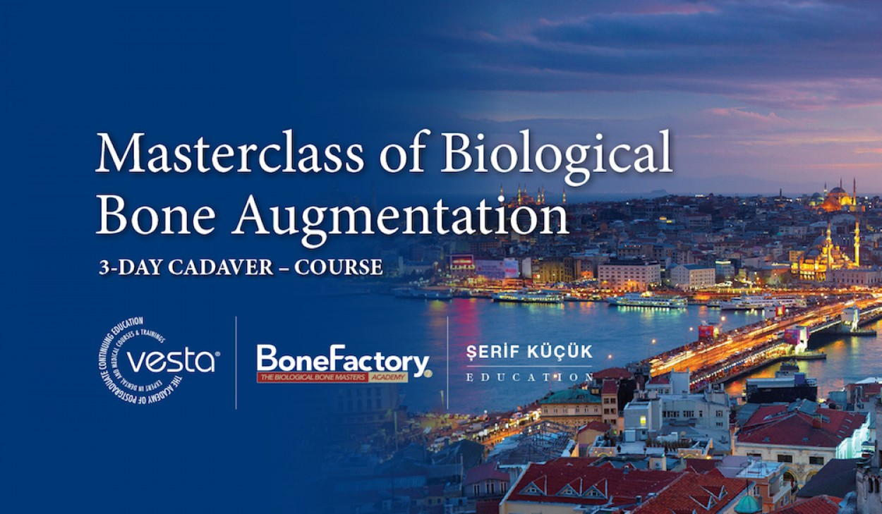 Masterclass of Biological Bone Augmentation (Kadavra Uygulamalı)